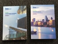 IMC (Investment Management Certificate) Study Books - Volumes 1 & 2