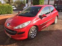 Peugeot 207 S 1.4 2006 CAT D Very minor damage