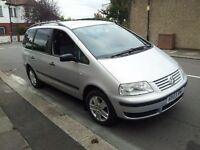 VW SHARAN 1.9 TDI CARAT PD (130BHP) 03 PLATE DIESEL 7 SEATER EXCELLENT CONDITION SPECIAL EDITION