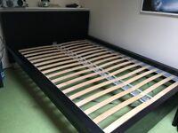 ikea double bed base