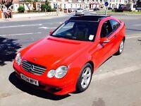 Mercedes C220 CDi SE AUTO DIESEL COUPE