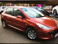 2005 PEUGEOT 307 1.6 H.D.i # GENUINE 112.000 MILES # M.O.T TO MAY 2017# MINT CAR WELL CARED FOR #