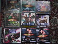 Doctor Who audio cds. 9 titles, all complete.
