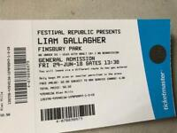 Liam Gallagher tickets 3 tickets one deal £100