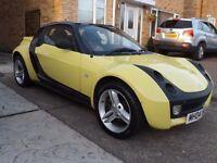 2004 smart roadster soft top 700cc turbo semi-auto yellow BARGAIN