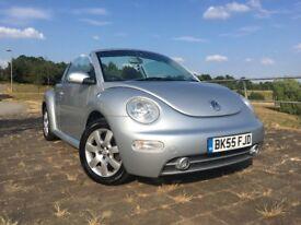 VW Beetle Convertible 1.6 Petrol 64k 12 Months MOT