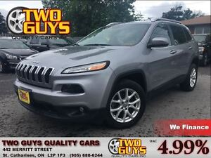 2014 Jeep Cherokee NORTH NAVIGATION  FWD  ALLOYS HITCH