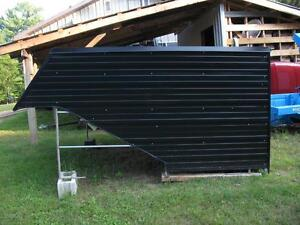 "Trailer Enclosure for 10' x 101"" wide double snowmobile trailer;"