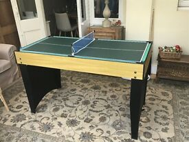 3 in 1 mini Snooker, Table Tennis & Air Hockey Table