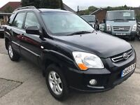 Great Condition And Superb Value 2009 59 Sportage 2.0 DIESEL XS 79000 Miles Full Leather HPI Clear