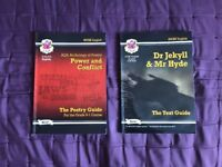 CGP GCSE GRADE 9 - 1 ENGLISH LITERATURE REVISION GUIDES: JEKYLL & HYDE AND POWER AND CONFLICT POETRY