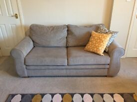Harvey's 'Evie' 3 seater sofa - only 3 months old, comes with care kit