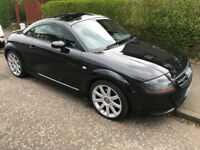 Audi TT Quattro Turbo, 2006, 06 Phantom Black with black leather heated seats 190bhp