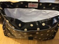Cath Kidston change bag with bottle warmer and change mat