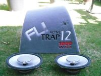 FLY TRAP SUB WITH SPEAKERS