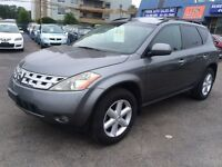 2005 Nissan Murano SE,AUTO,A/C,ALL POWER OPTIONS,LEATHER AND SUN