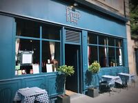 Bar and waiting staff: Bennets Bar/La Petite Mort