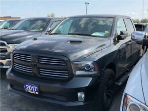 2017 Ram 1500 SPORT**CREW CAB**SUNROOF**NAV**BLUETOOTH**