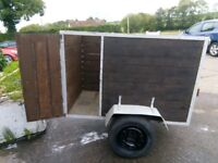 5ft by 3ft BOX TRAILER.