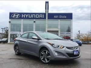 2016 Hyundai Elantra GLS|SUNROOF|ALLOYS|BACK-UP CAM|BLUETOOTH