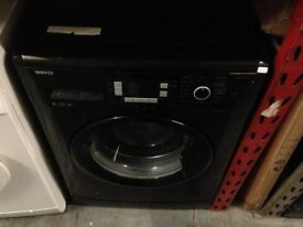 BEKO 8KG 1200 SPIN A+ WASHING MACHINE BLACK RECONDITIONED