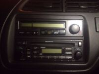 bose radio cd player from honda leather seats workshop manuals