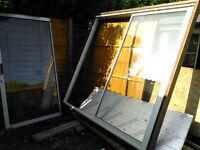 Used aluminium patio sliding door