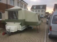 Folding camper, trailer tent, ideal for conversion
