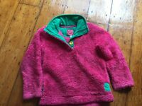 Joules age 4-5 jumper girls