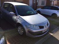 RENAULT MEGANE 1.6 2007, AUTOMATIC 5 DOOR Car, GOOD CONDITION CRUISE CONTROL, LOW MILEAGE .ONO