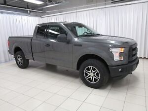 2015 Ford F-150 XLT 4X4 2DR. RUGGED 6 PASSENGER WITH LOADS OF FE