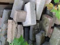 Bricks and pavers assorted free