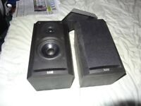 B&W 600 Series Hi-Fi / Surround Speakers Ash Black - Bowers And Wilkins Prism system
