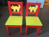 Children IKEA chairs - 2 + 1