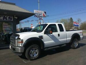 2009 Ford F-350 SD, 6.4L Diesel, 4x4, EX Cab, Leather