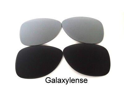 Galaxis Ersatz Linse für Oakley Crosshair S Sonnenbrille Schwarz & Titan Polariz gebraucht kaufen  Versand nach Germany