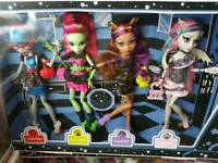 Monster high ghouls night out box set