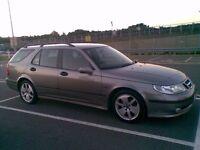 Saab 9 5 / 95 estate, Vector, Grey, great family car. not Volvo v50 93 9-3 9 3 honda Toyota ford