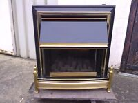 MARBLE FIRE PLACE. WITH GAS FIRE.WITCH IS IN GOOD CONDITION.