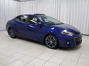 "2016 Toyota Corolla S 6-Speed Sport! 17"""" Alloys, Sunroof, Back-"