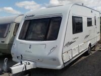 Elddis crusader typhoon 2006 4 berth with end wash room and large Awning