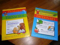Children's illustrated Dictionary and Thesaurus