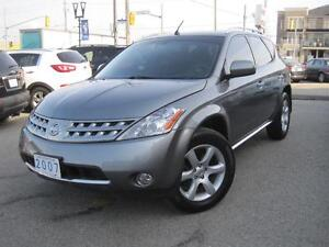 2007 NISSAN MURANO SL | Leather • Sunroof • Loaded