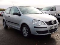 2008 volkswagen polo 1.2 petrol with only 68000 miles, motd oct 2018 1 owner form new