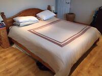Antique Pine Superking 'Dreams' Bed Frame