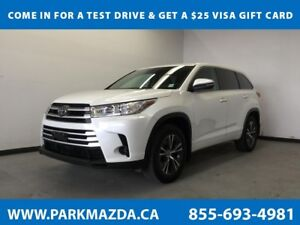 2017 Toyota Highlander LE AWD - Bluetooth, Backup Cam, A/C, 3rd