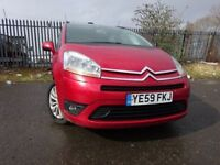 59 CITROEN C4 GRAND PICASSO HDI 1.6 DIESEL 7 SEATER,MOT DEC 018,2 OWNERS,2 KEYS,FULL SERVICE HISTORY
