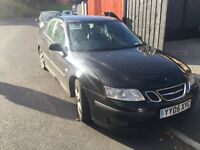 saab 9-3 vecta sport tid sport! 05-plate! NOISY GEARBOX! JUST HAD CLUTCH! good drive