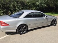 Mercedes-benz CL500, 2002 fish, AMG kit, command, doubled glazed, heated cooling massaging seats w