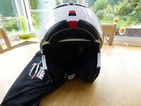 Nolan flipfront crash helmet Size Small